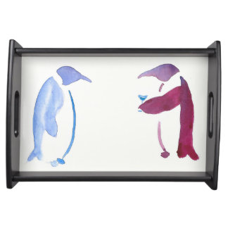 Party Penguins Serving Tray
