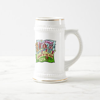 Party Pets 50th Birthday Gifts Coffee Mug