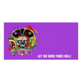 Party Pirate-2 Custom Photo Card