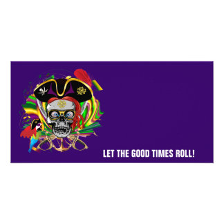 Party Pirate-2 Personalized Photo Card