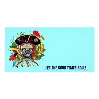 Party Pirate-2 Photo Greeting Card