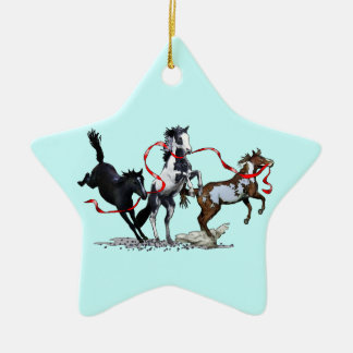 Party Ponies Ceramic Star Decoration