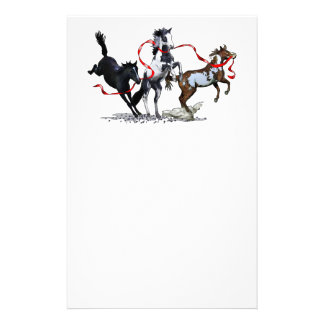 Party Ponies Custom Stationery