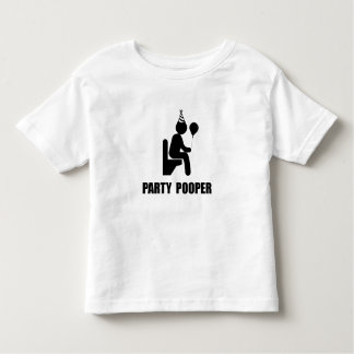 Party Pooper Toddler T-Shirt