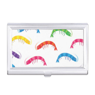 Party Prawns Business Card Holder