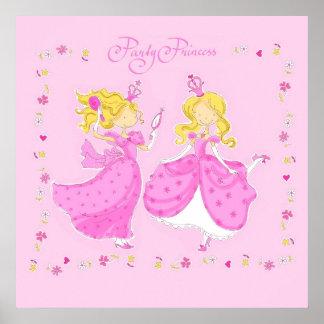 Party Princess Poster