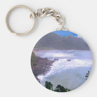 Party Return+gifts Giveaway Waves Circles Artistic Basic Round Button Key Ring