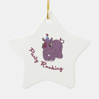 Party Rocking Ornament