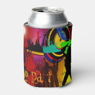 Party Scene With Dancers Drink Holder