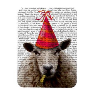 Party Sheep Rectangular Photo Magnet