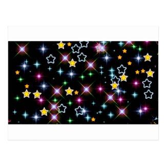 Party Shower Teacher Class  Astronomy Space Stars Postcard