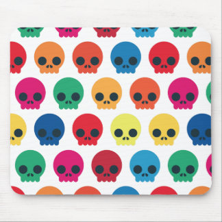 Party Skulls Mouse Pad