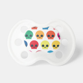 Party Skulls Pacifiers