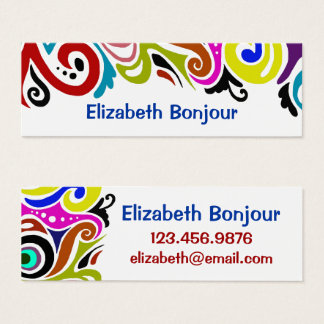 Party ~ Slim Business Card