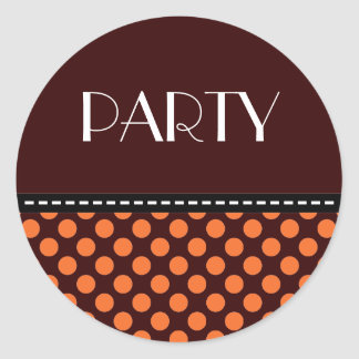 PARTY STCKER STICKERS