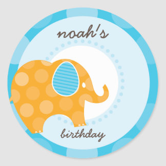 PARTY STICKERS :: elephant 2