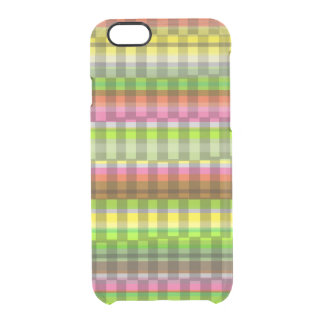 Party Stripe Clear iPhone 6/6S Case
