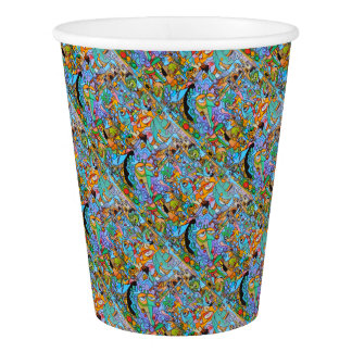 Party Supplies The Sun Ride by Lorenzo Traverso Paper Cup