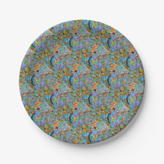 Party Supplies The Sun Ride by Lorenzo Traverso Paper Plate