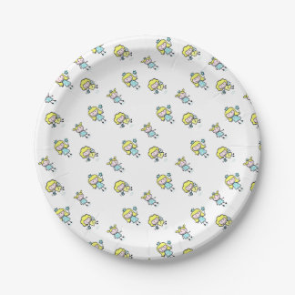 Party supplies with Fairy princess 7 Inch Paper Plate