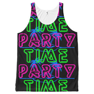 Party Time All-Over Print Singlet
