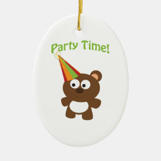 Party Time Bear Ornament