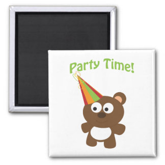 Party Time! Bear Refrigerator Magnets