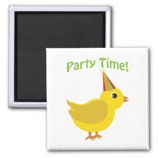 Party Time! Chick Fridge Magnets