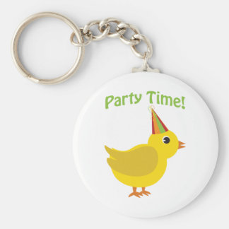 Party Time! Chick Key Ring