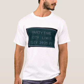 Party Time City Limit with Keg Pack T-Shirt