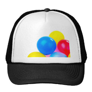 Party Time Colorful Balloons Trucker Hats