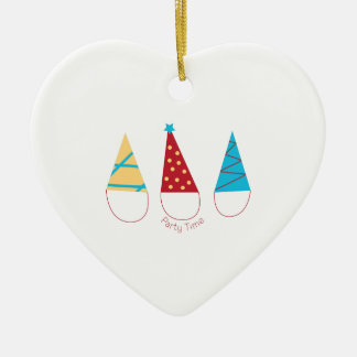 Party Time Christmas Tree Ornaments