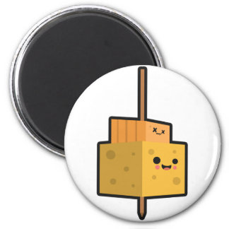 Party Time Food Cheese Stick Magnet