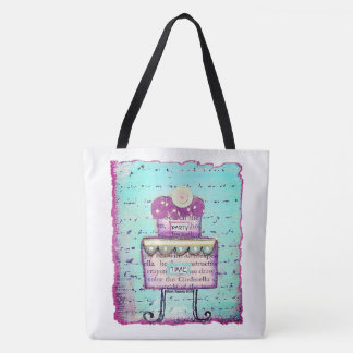 Party Time Tiered Cake Tote Bag