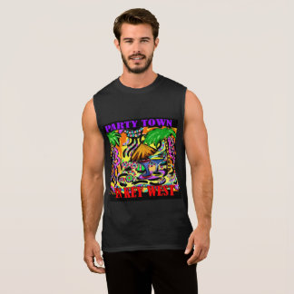 PARTY TOWN IN KEY WEST SLEEVELESS SHIRT