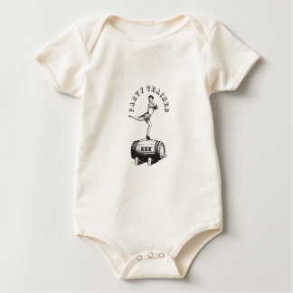 Party Trained Baby Bodysuit