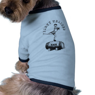 Party Trained Dog T-shirt