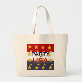 PARTY USA LARGE TOTE BAG