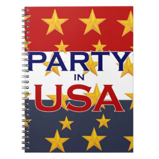 PARTY USA NOTEBOOKS