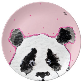 Party With Panda Plate