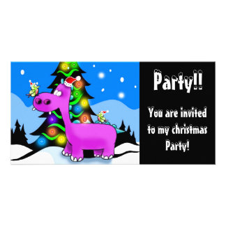 Party!!, You are invited Photo Card