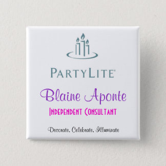 Partylite Name Badge