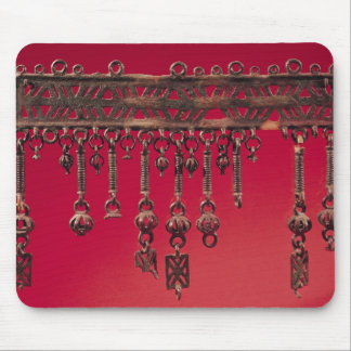 Parure with bell pendants mouse pad
