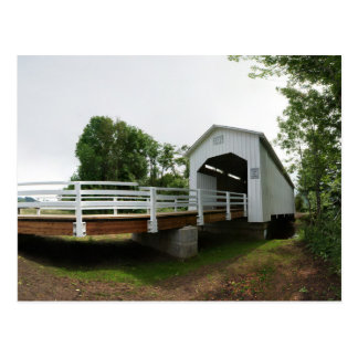 Parvin Covered Bridge Postcard