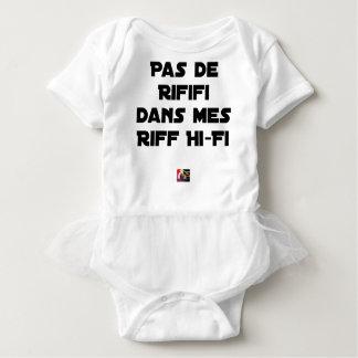 PAS DE RIFIFI DANS MES RIFF HI-FI - Word games Baby Bodysuit