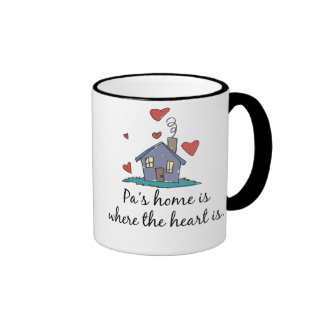 Pa's Home is Where the Heart is Mugs