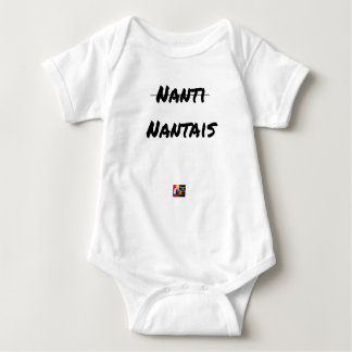PAS NANTI, NANTES - Word games - François City Baby Bodysuit