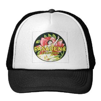 Pasadena California, Vintage Hat
