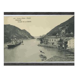 Pasajes Salida De La Bahia, Vintage Postcards