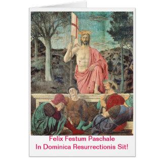 Paschalis Scida In Dominica Resurrectionis Card